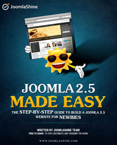 Joomla ebook | Joomla 2.5 Made Easy