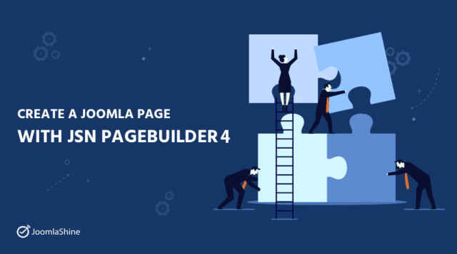 Create Joomla Pages With JSN PageBuilder 4: A Step-by-step Tutorial