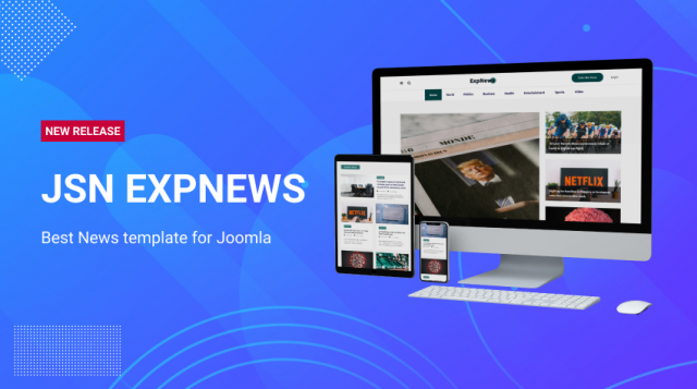 JSN ExpNews - Best News template for Joomla